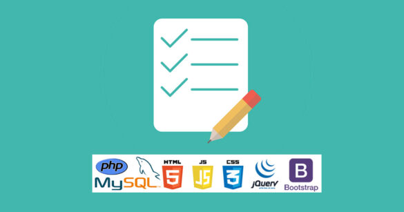 Simple shopping list using php mysql jquery bootstrap