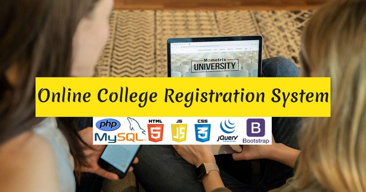 Online College Registration System