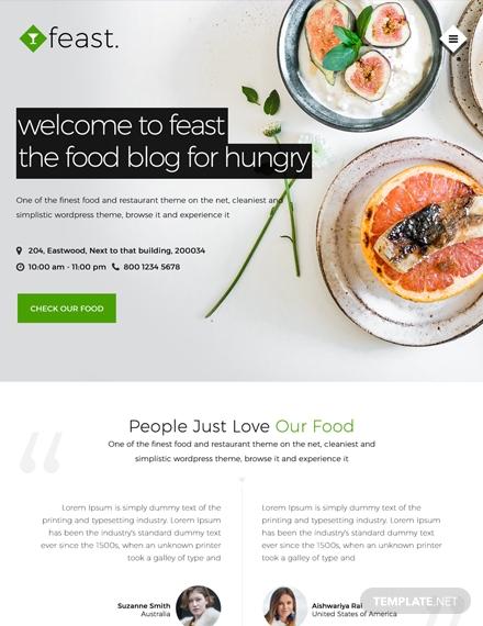 Food-Blog-HTML5CSS3-Website