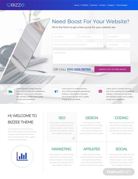Service-Company-HTML5-Website