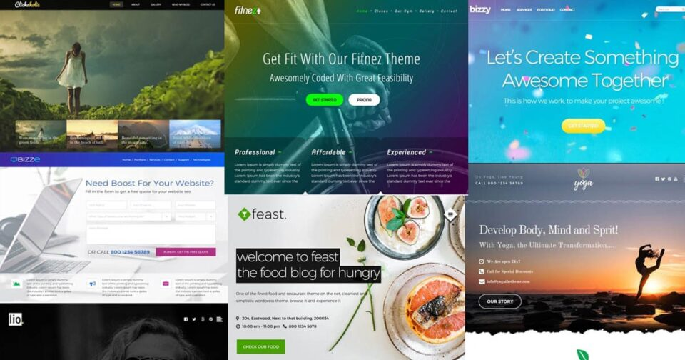 Top 10 Free Ready-Made HTML design for your inspiration from Template.net