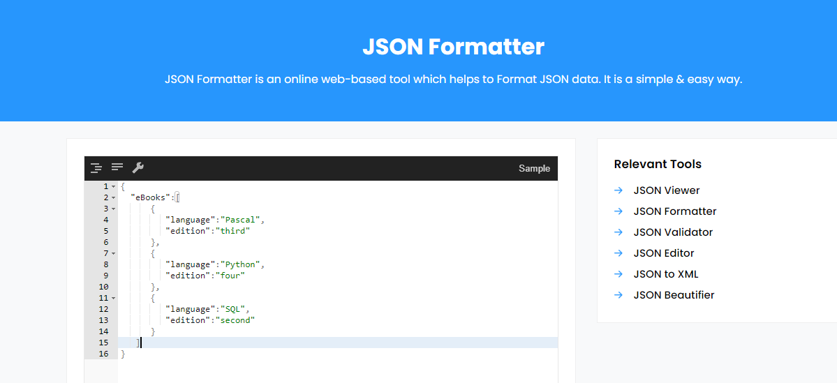 How JSON Formatter Helps in Organizing JSON Data
