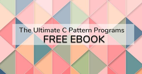 C Pattern Programs eBook